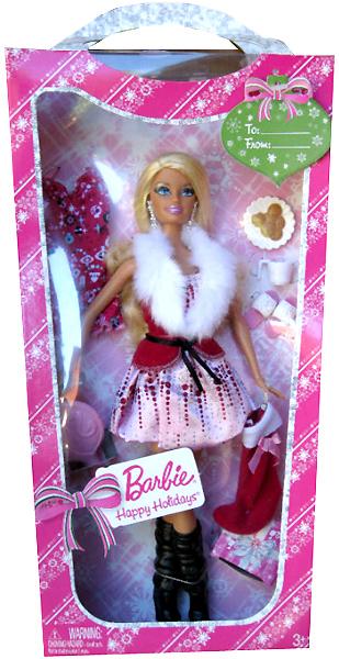 Новогодняя кукла Барби Happy Holidays для Target