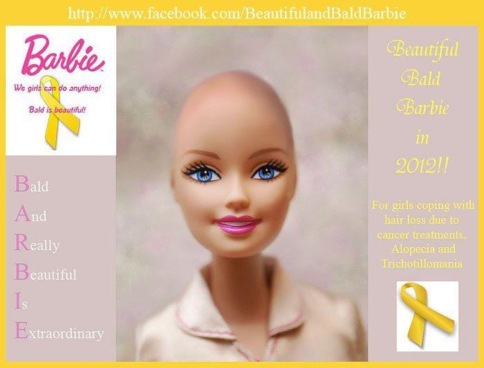 Upd: «лысую Барби» все-таки выпустили! Кукла Ella помогает больным детям, потерявшим волосы