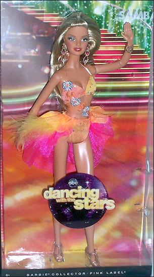 Фото куклы Барби коллекционный выпуск Самба