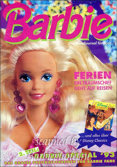 Кукла Барби из детства Secret Hearts Barbie в платье с сердечками