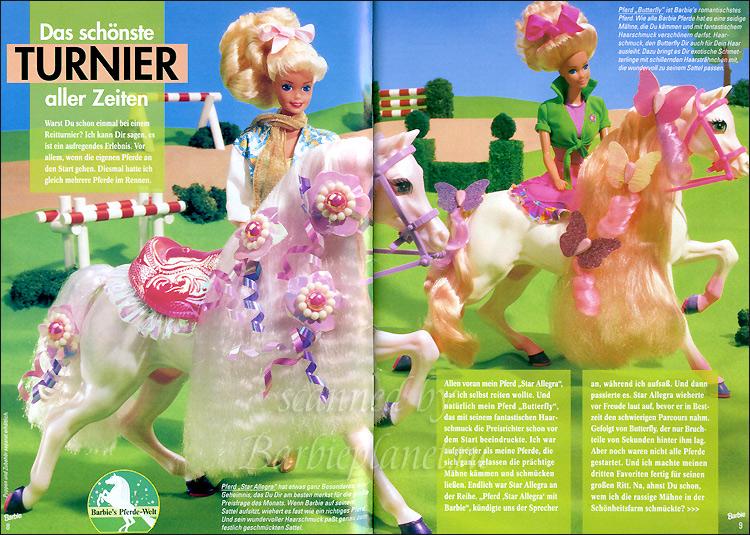 Лошади для Барби