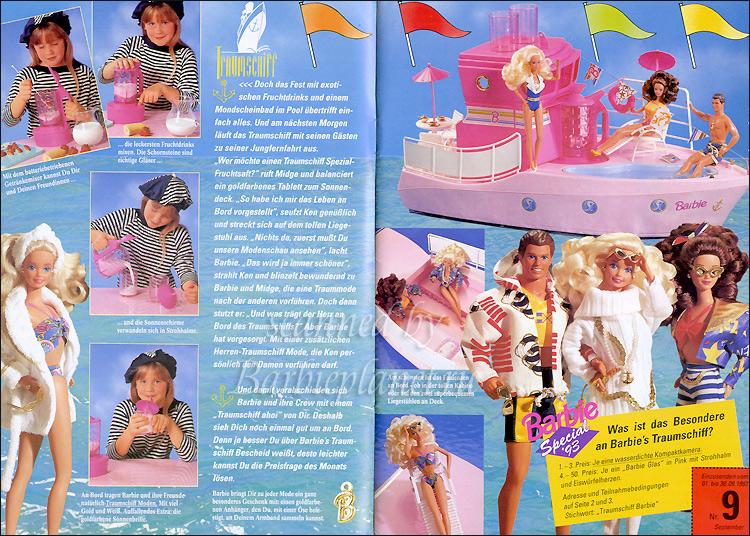 Корабль Барби Barbie Dream Boat 1993 1994