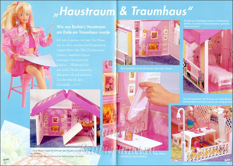 Складной дом для куклы Барби