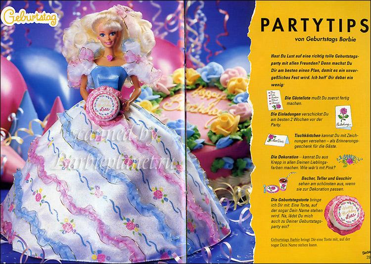 Фото Барби с Днем Рождения Birthday Barbie 1993