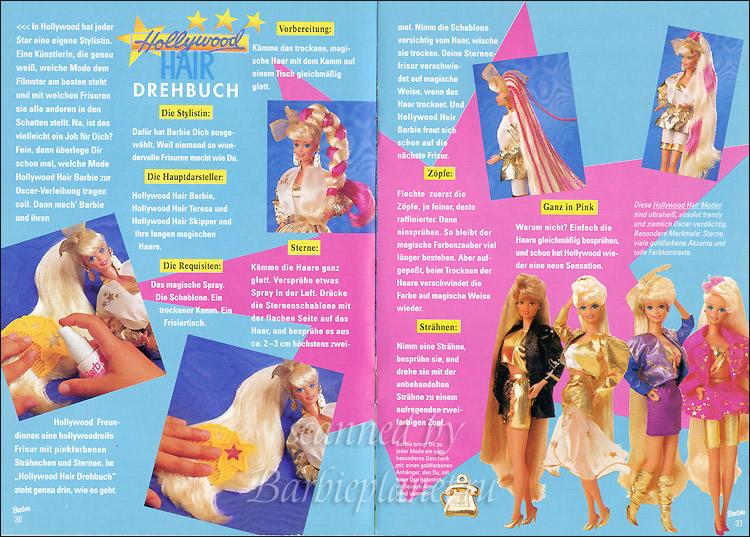 Куклы Барби Голливудские Волосы звездочки на волосах