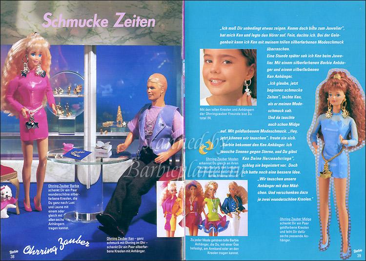 Куклы Earring Magic Barbie Ken