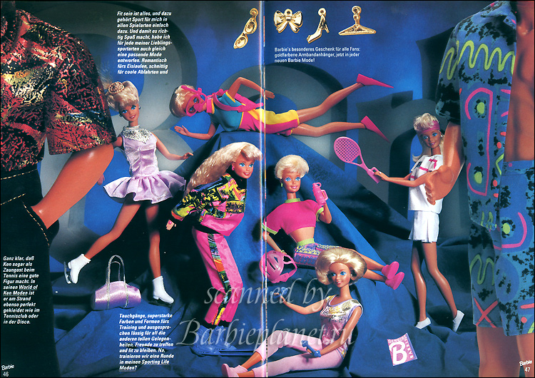 Одежда для кукол Барби каталог