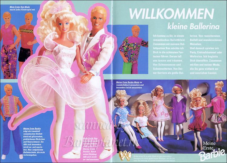 Игровые куклы для детей Барби балерина и Кен танцор