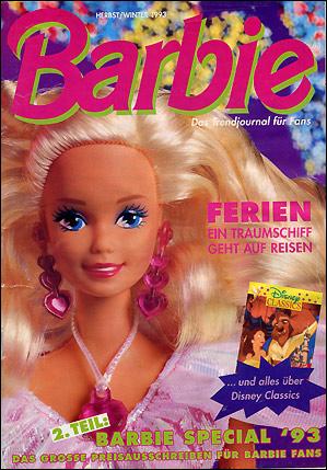 Куклы Барби 90-х каталог бумажный
