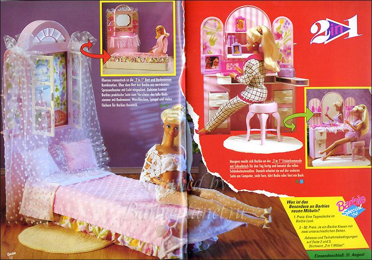 Мебель для Барби спальня