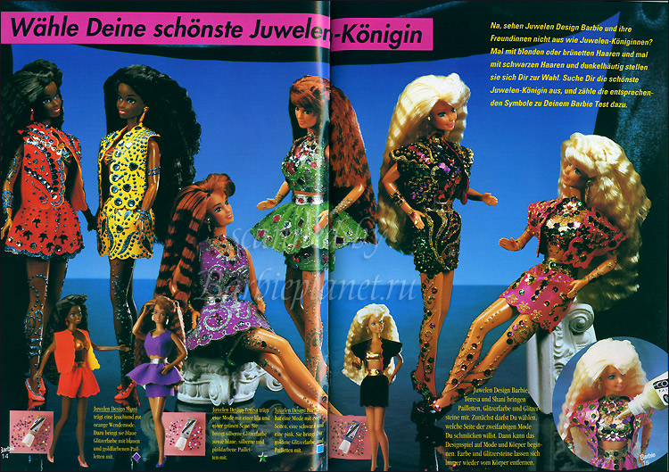 Фото кукол Барби 90-х