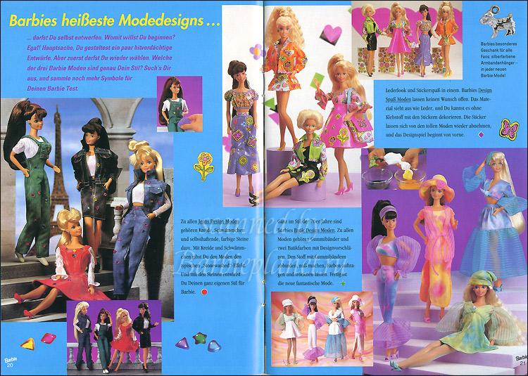 Одежда для кукол Барби 90-х