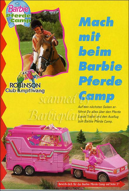 Фургон Барби для лошадей