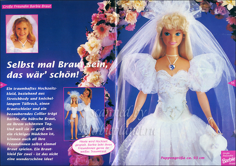 Кукла Барби невеста ростом с ребенка My Size Barbie Bride