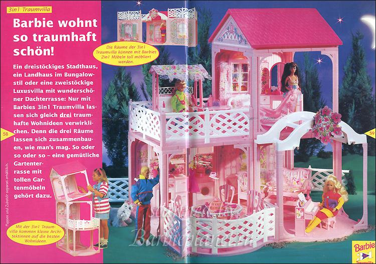 Реклама Барби 90-х дом