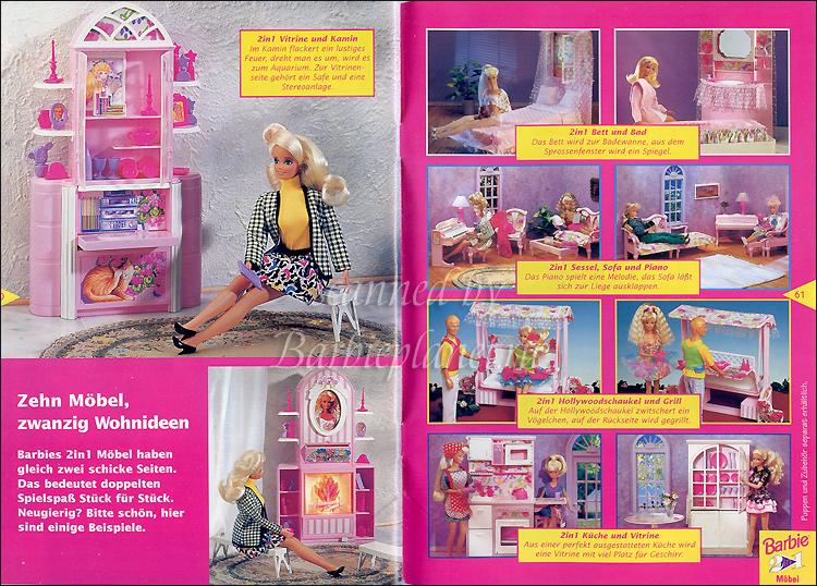 Мебель куклы Барби
