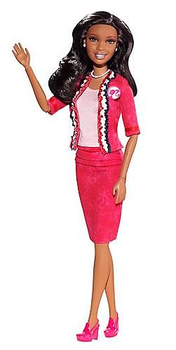 Кукла Барби 2012 Я могу стать президентом