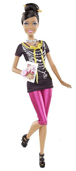 Фото кукла Барби модельер из сери Я могу стать