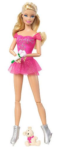 Фигуристка кукла Барби 2012 Я могу стать