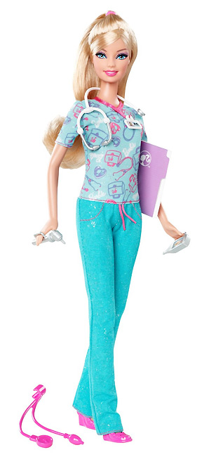 Кукла Барби медсестра серия Я могу стать