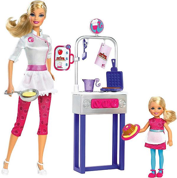 Кукла Барби повар блинопек из серии Я могу стать