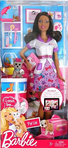 Новинка Барби 2012 - Я могу стать: Ветеринар