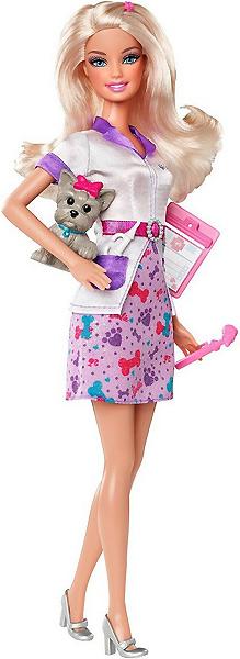 Фото кукла Барби ветеринар Я могу стать