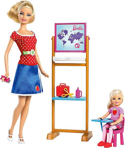 Кукла Барби Я могу стать учительницей