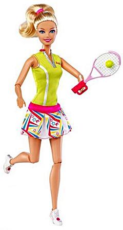 Кукла Барби спортсменка теннисистка Я могу стать
