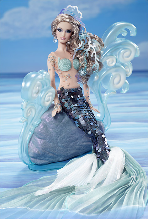 The Mermaid Barbie. Коллекционная Барби-русалка