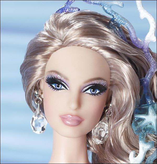 Коллекционная кукла Барби русалка The Mermaid Barbie 2012