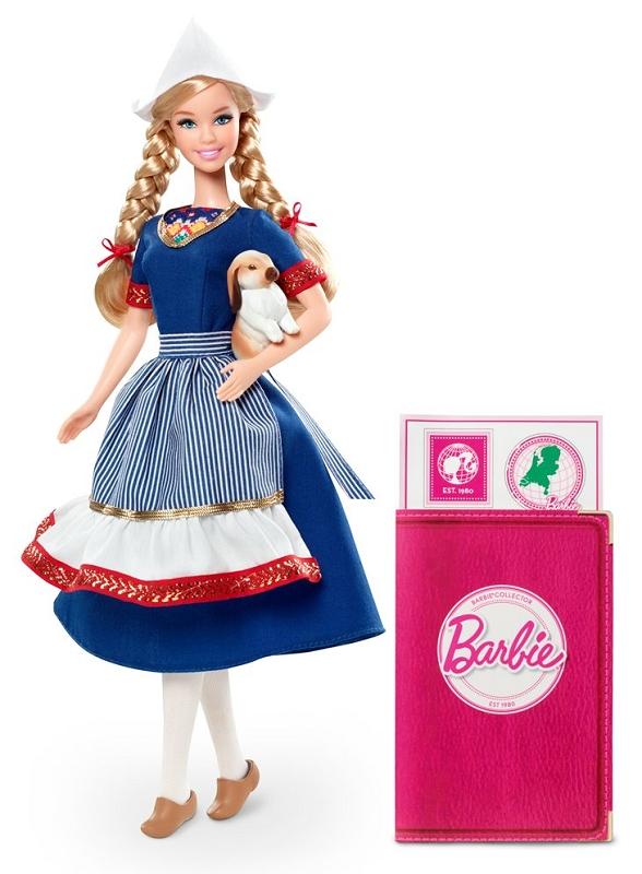 Фото коллекционной куклы Голландия новые Барби 2012