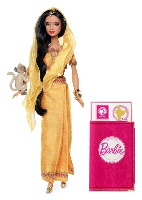 Фото коллекционной куклы Индия новые Барби 2012