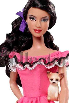 Коллекционная кукла Барби Мексика Dolls of the World Mexico 2012