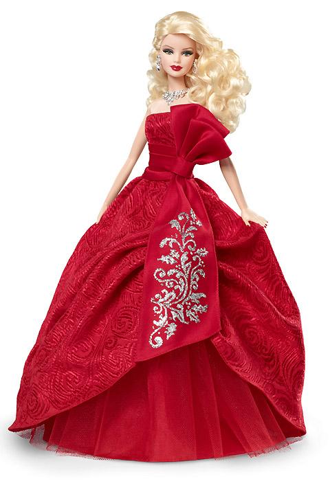 Holiday Barbie 2012. Барби празднует Рождество