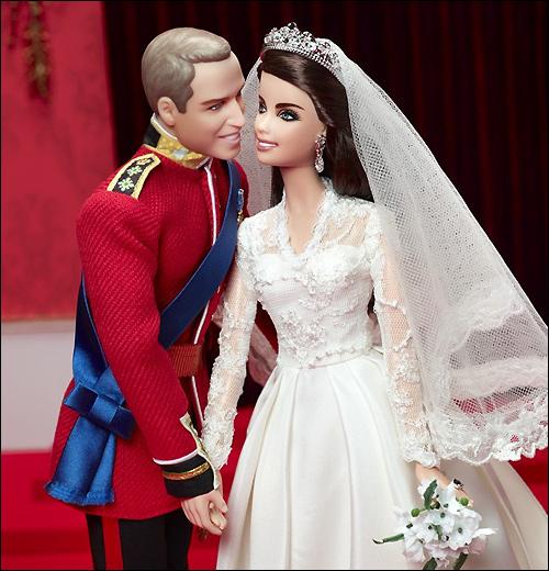 Куклы Кейт Миддлтон Принц Уильям Барби Кен