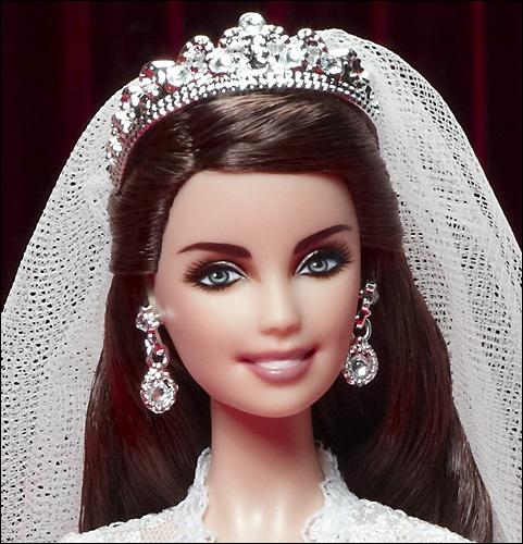Кукла Барби Кейт Миддлтон