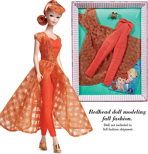Осенний костюм для Барби Let's Play Barbie 2012