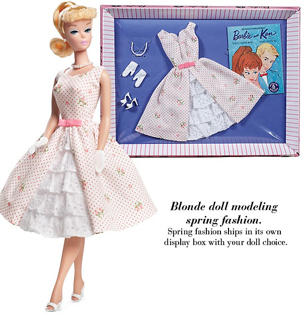 Винтажная одежда для Барби: Garden Party Fashion. Репродукция