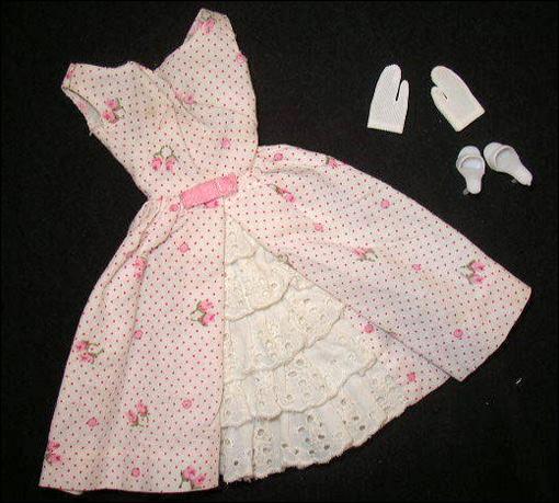 Винтажная одежда для Барби: Garden Party Fashion