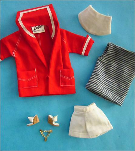 Летний костюм для Барби Resort Set - винтаж