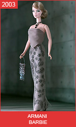 Кукла Барби от Армани