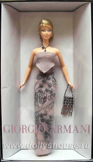 Коллекционная кукла Барби от Армани Armani Barbie
