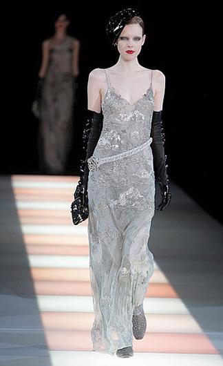 Вечерняя мода Armani и кукла Барби