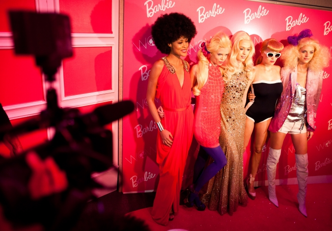 Барби приглашает в свою гардеробную. Barbie Dream Closet в Нью-Йорке
