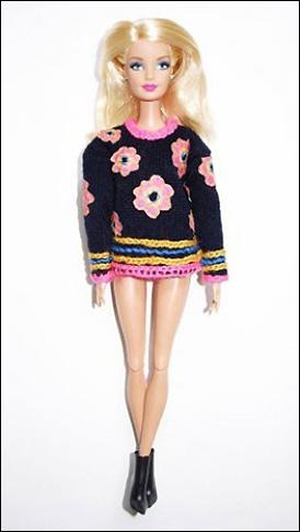 Sister by Sibling одели Барби для Недели моды в Лондоне