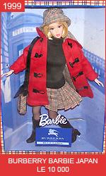 Японская кукла Барби от Берберри