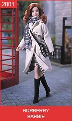 Кукла Барби от Burberry