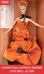 Коллекционная Барби от Кристиана Лакруа