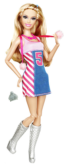 Шарнирные Барби новые Fashionistas Barbie 2012